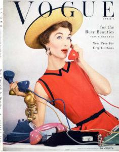 Vogue, April, 1953