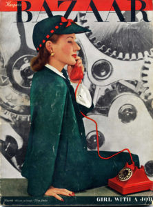Harpers Bazaar, February, 1942