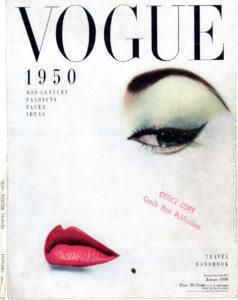 Vogue, january, 1950