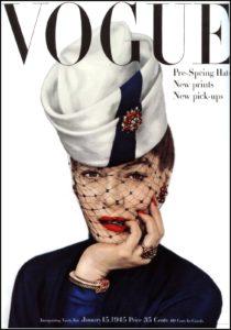 Vogue, January, 1945